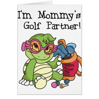 Turtle Mommy's Golf Partner Card
