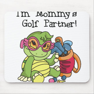 Turtle Mommy's Golf Partner Mouse Pad