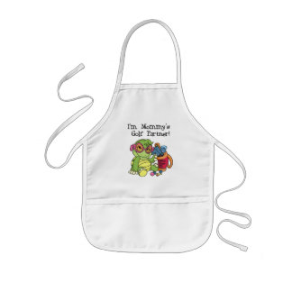 Turtle Mommy's Golf Partner T-shirts and Gifts Kids' Apron