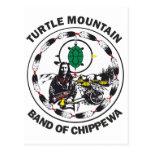 Turtle Mountain Band of Chippewa Postcard
