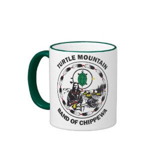 Turtle Mountain Band of Chippewa Ringer Mug