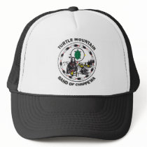 Turtle Mountain Band of Chippewa Trucker Hat