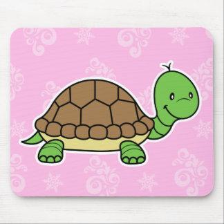Turtle mousepad pink