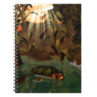 Turtle Spiral Notebooks