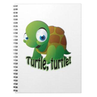 Turtle! Spiral Notebooks