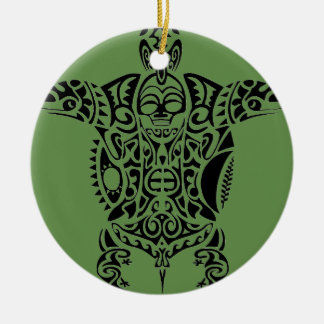 turtle of AOTEAROA new zealand Ceramic Ornament