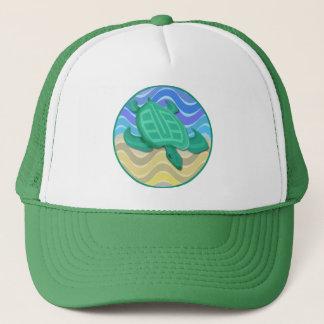 Turtle On Beach Hats