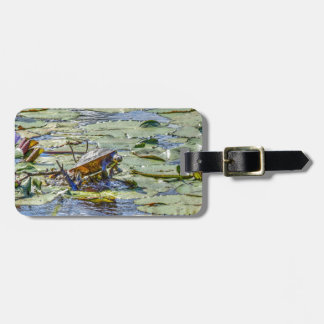 TURTLE ON LILLY PAD RURAL AUSTRALIA LUGGAGE TAGS