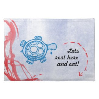 Turtle on Path Placemats