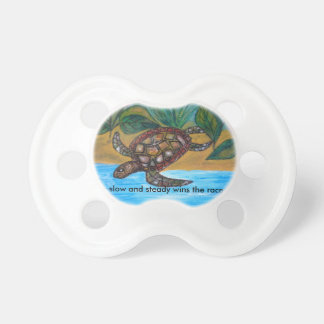 Turtle or tortoise accessories pacifier