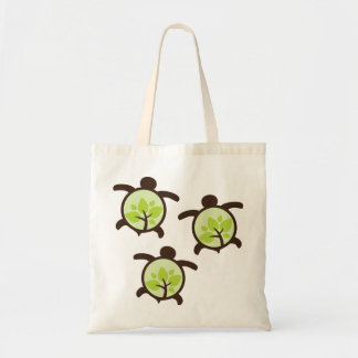 Turtle Organic Planet Reusable Canvas Bags