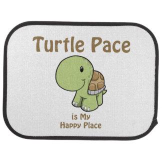 Turtle Pace - Happy Place Car Mat