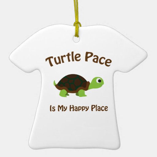 Turtle Pace Christmas Tree Ornaments