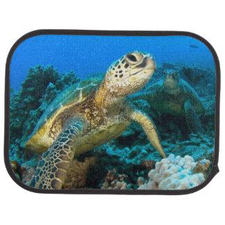 Turtle Pair Car Mat