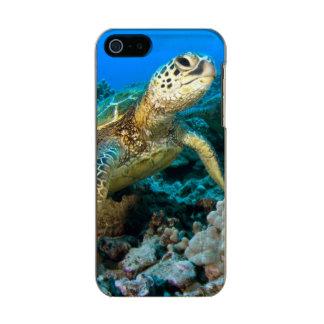 Turtle Pair Metallic Phone Case For iPhone SE/5/5s