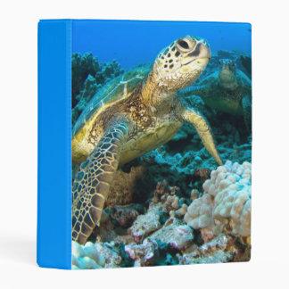 Turtle Pair Mini Binder