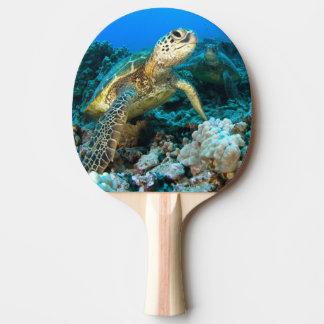 Turtle Pair Ping-Pong Paddle