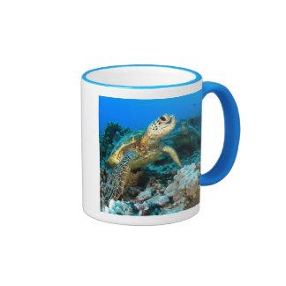 Turtle Pair Ringer Mug