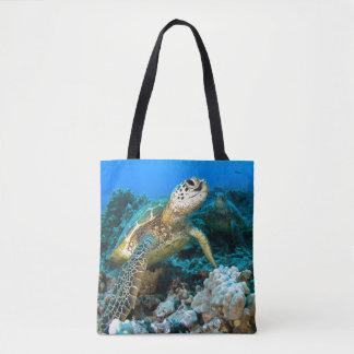 Turtle Pair Tote Bag