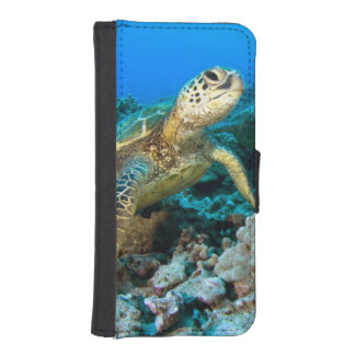 Turtle Pair Wallet Phone Case For iPhone SE/5/5s