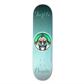 Turtle Panda Skateboard Deck