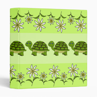 Turtle Parade School Binder