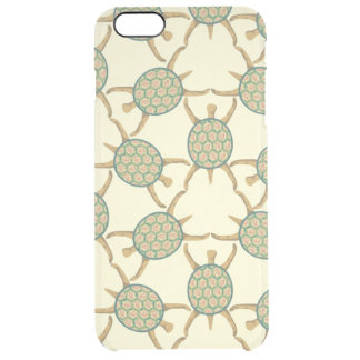 Turtle pattern clear iPhone 6 plus case