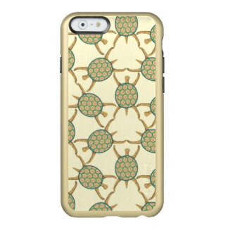 Turtle pattern incipio feather shine iPhone 6 case