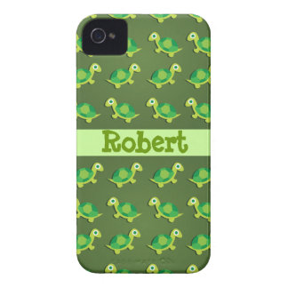 Turtle Pattern iPhone 4 Case-Mate ID