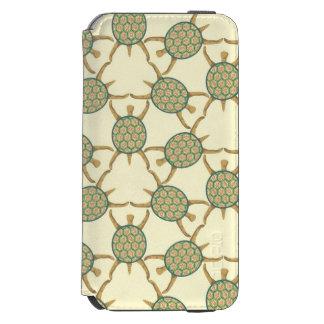 Turtle pattern iPhone 6/6s wallet case