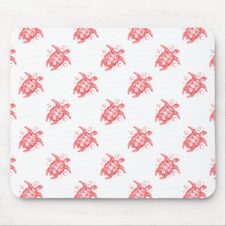 turtle pattern mouse pad