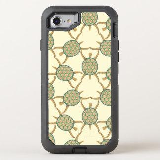 Turtle pattern OtterBox defender iPhone 8/7 case