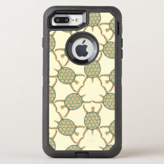 Turtle pattern OtterBox defender iPhone 8 plus/7 plus case