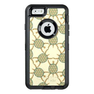 Turtle pattern OtterBox defender iPhone case