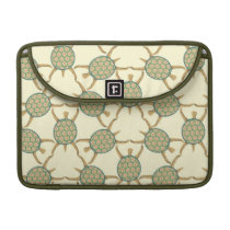Turtle pattern sleeve for MacBooks