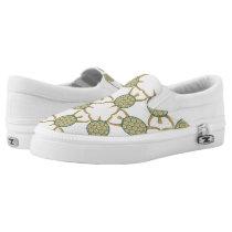 Turtle pattern Slip-On sneakers