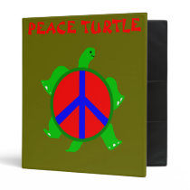 Turtle Peace Binder