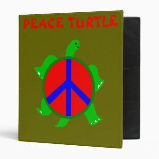 Turtle Peace Binder
