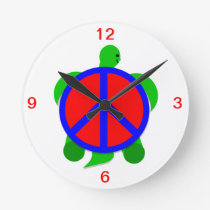 Turtle Peace Clock