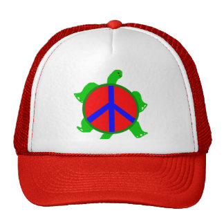 Turtle Peace Hat