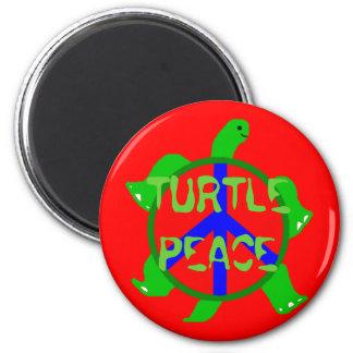 Turtle Peace Magnet