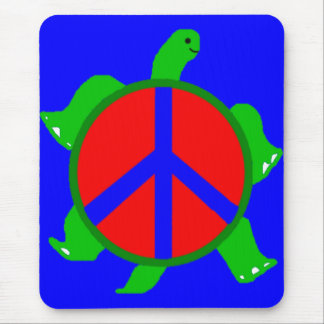 Turtle Peace Mousepsd Mouse Pad