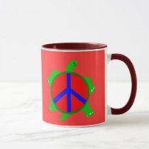 Turtle Peace Mug