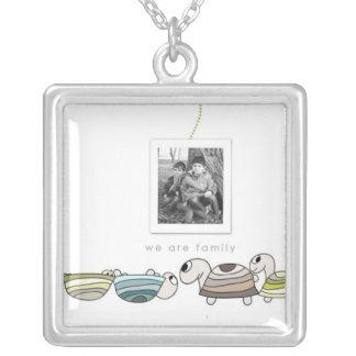 turtle Photo necklace