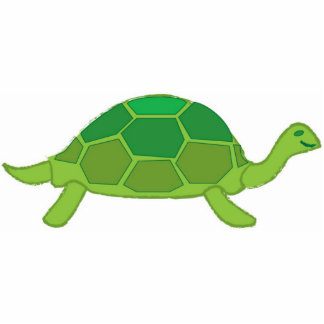 Turtle pin cutout