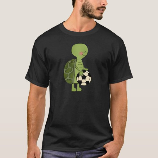 Turtle playing soccer T-Shirt