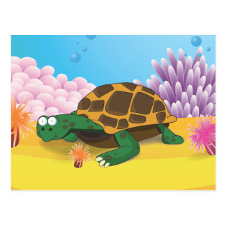 Turtle Post Card