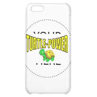 Turtle Power Cover For iPhone 5C