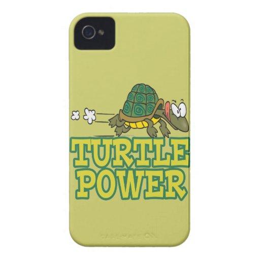 turtle power cute turtle cartoon iPhone 4 Case-Mate case