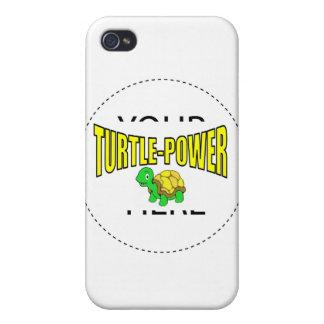 Turtle Power iPhone 4 Case